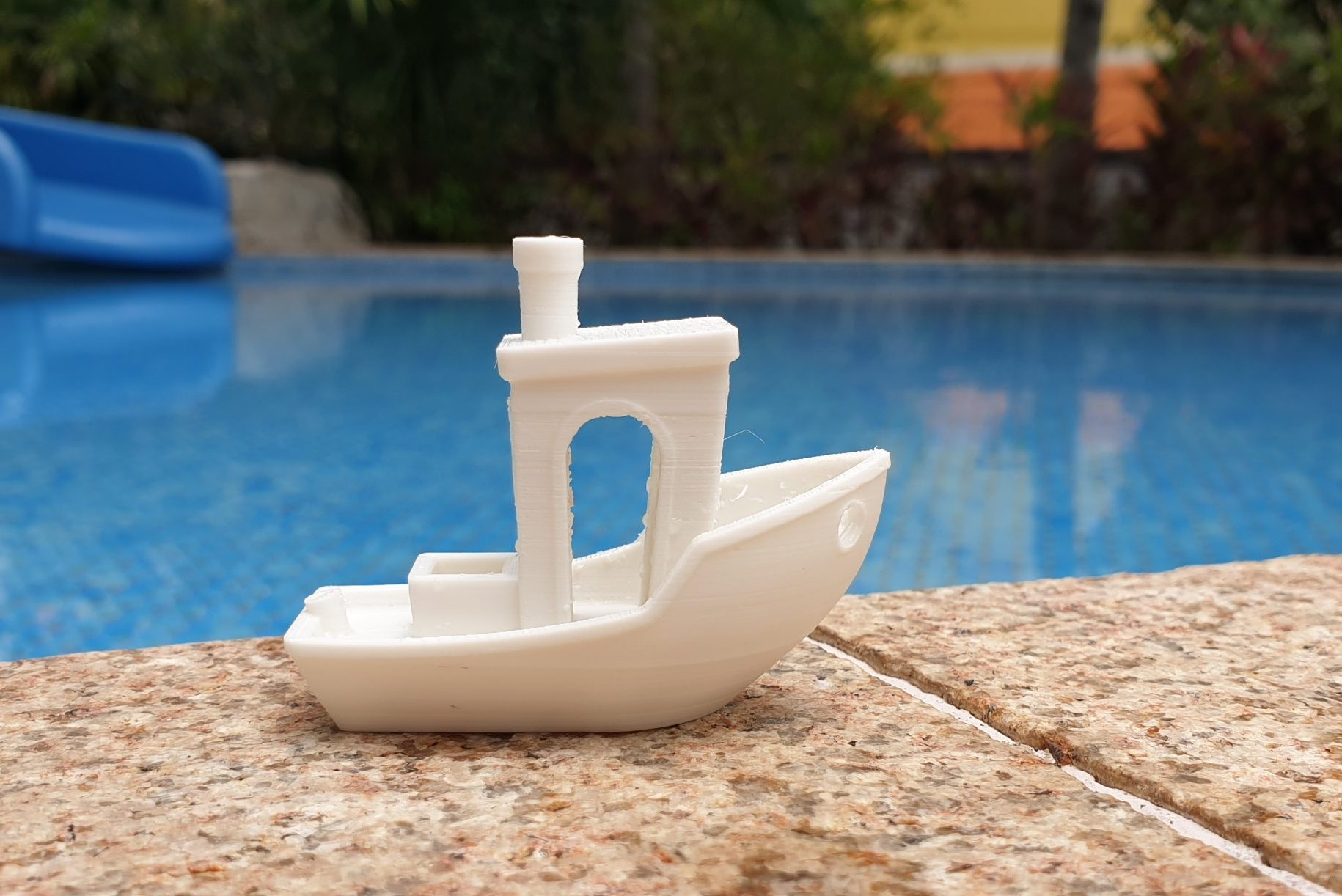 3DBenchy to torture test print your 3D printer