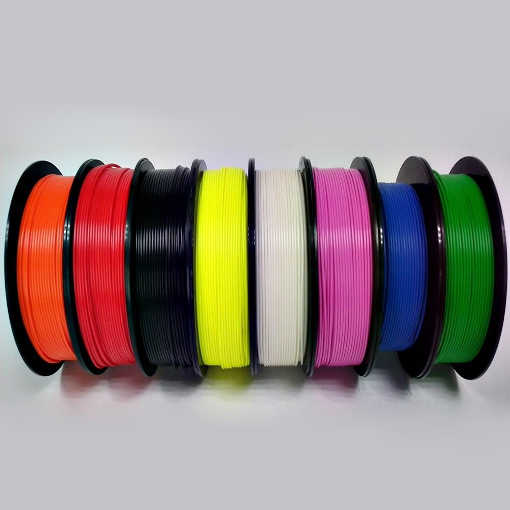 plastic PLA filament