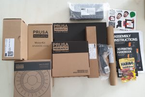 Unboxing and Assembling Prusa i3MK3S+